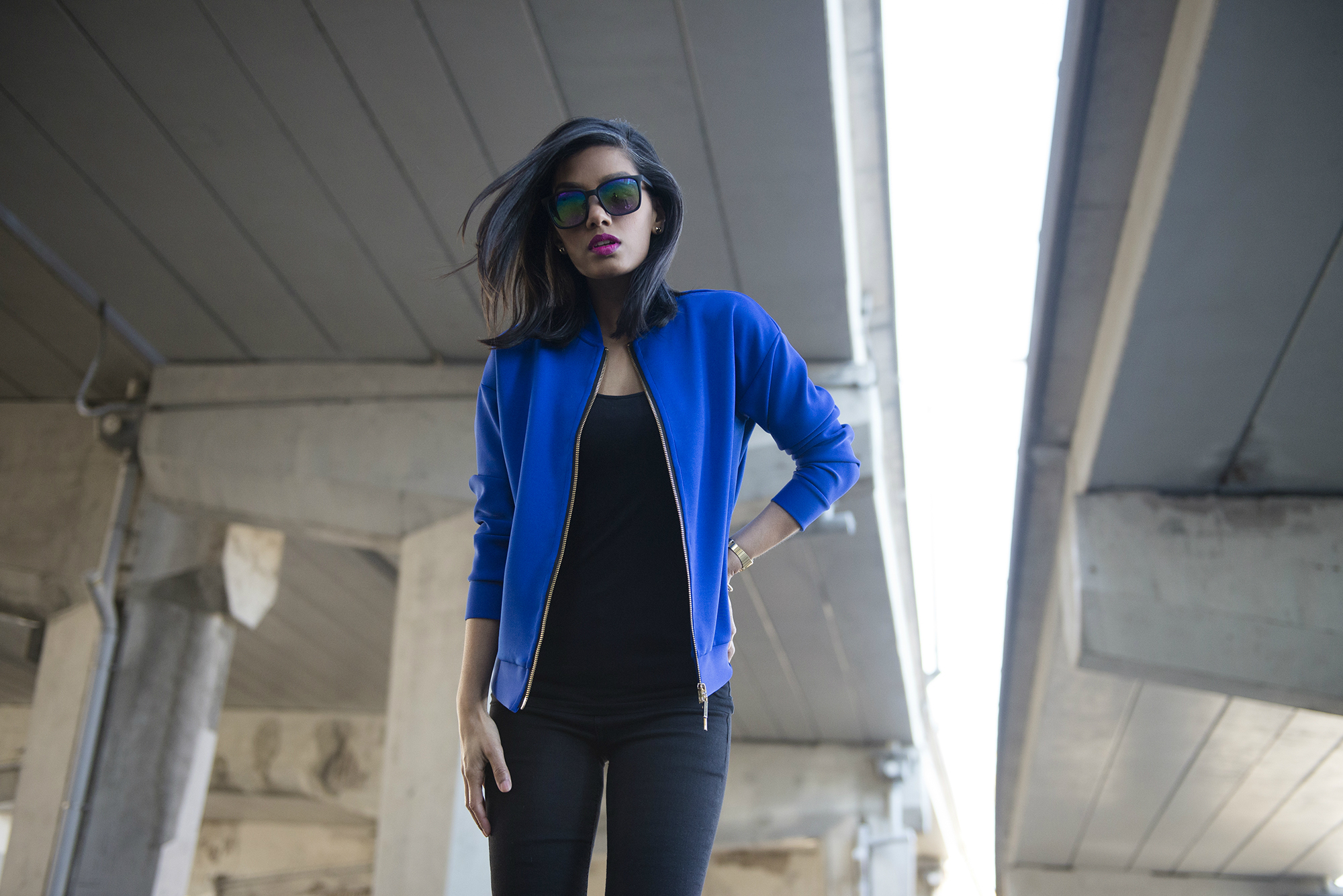 DIY drop shoulder bomber jacket www.SweetShard.com