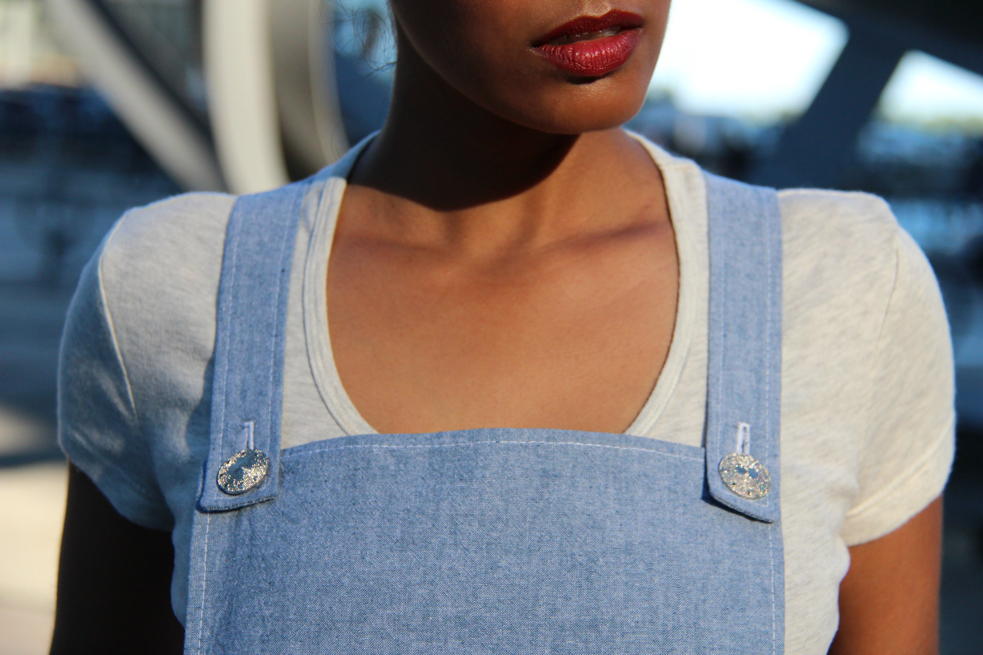 Slouchy Overalls – K4138