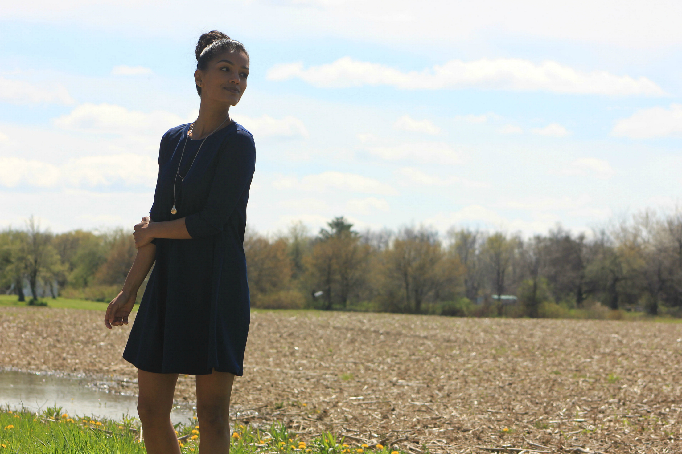 www.SweetShard.com McCalls M7348 DIY T-shirt Dress
