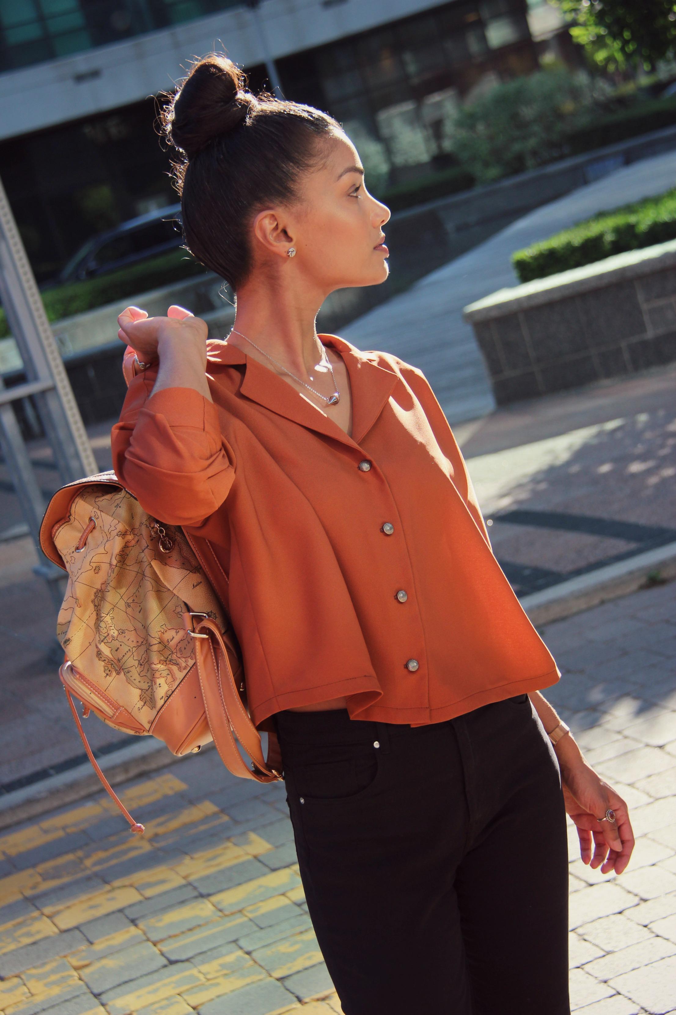 Burda Style V-Neck Button Up 03/2016 by Sweet Shard