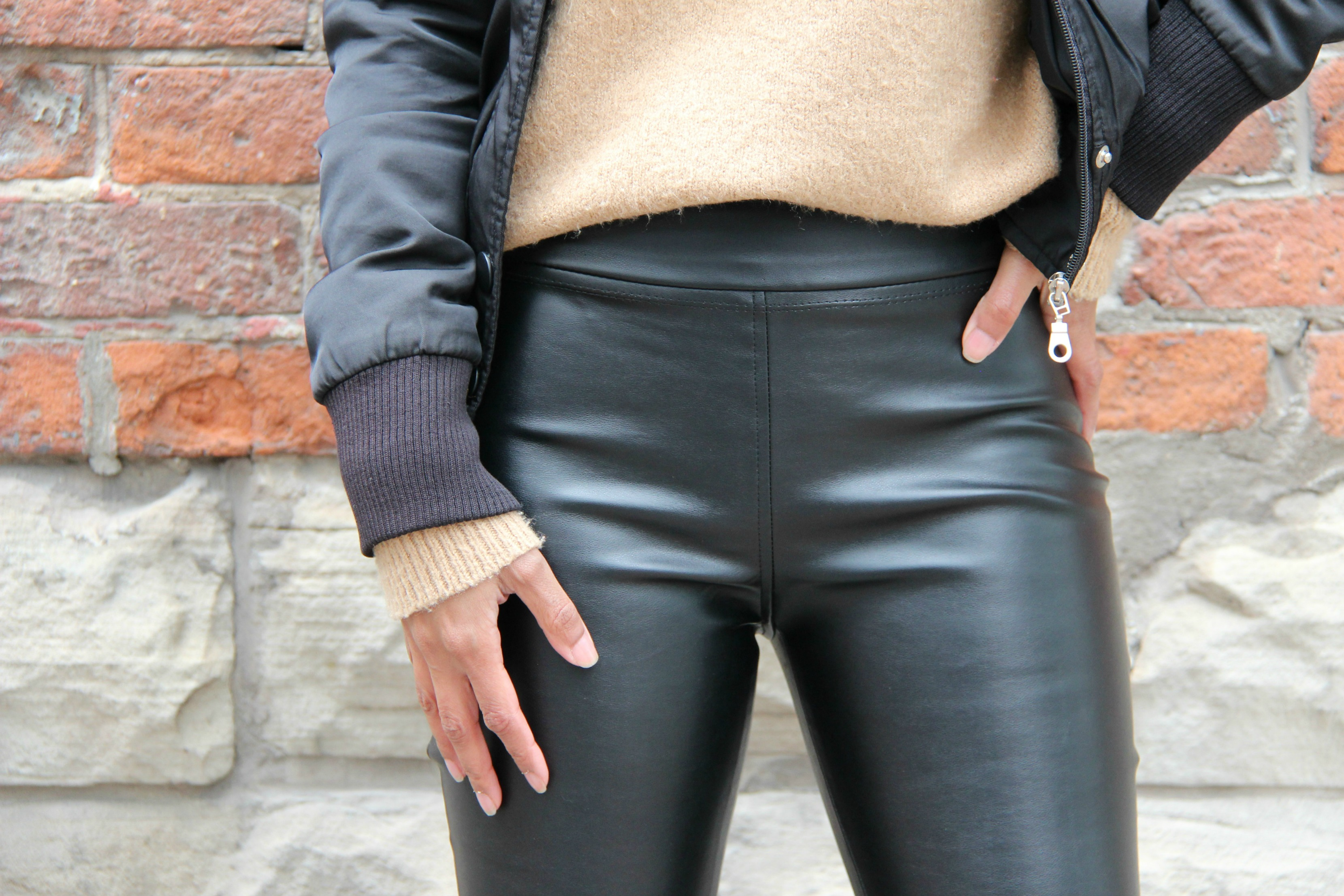 Sweet Shard - Burda Style 11/2016 #127 - Faux Leather Leggings